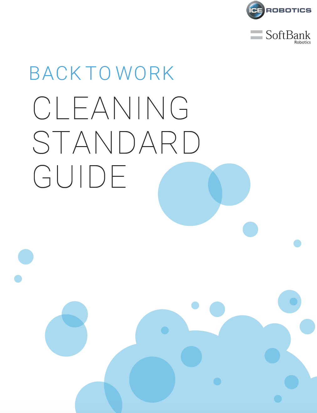 Back to Work COVID Cleaning Standard Guide