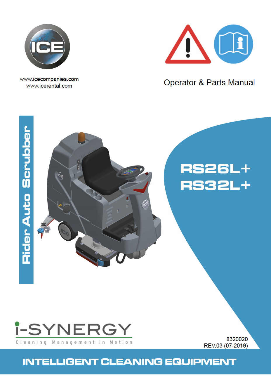 Rs26 Machine Manual